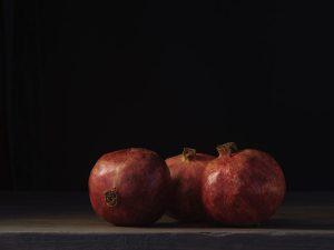 granaatappels, foto van Yola de Lusenet